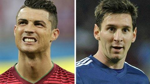 """Messi và Ronaldo: """"Siêu nhân"""" CLB, """"phàm nhân"""" ở ĐTQG"""