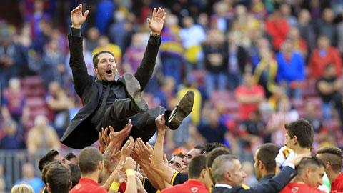 HLV Diego Simeone sẽ sớm rời Atletico