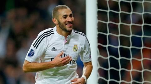 Benzema giành giải cầu thủ xuất sắc nhất La Liga tháng 10