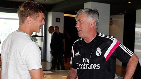 Toni Kroos: Người Ancelotti cần ở Real