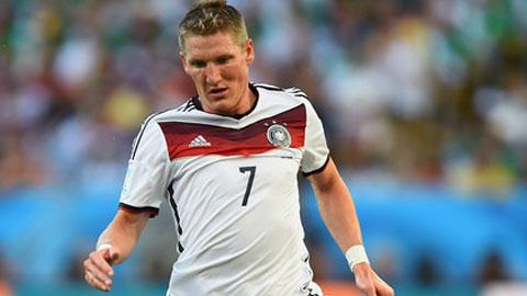 Không như Bayern, tuyển Đức cần Schweinsteiger hơn bao giờ hết