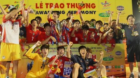 BTV Cup 2014: Sinh viên Hàn Quốc lần đầu tiên lên ngôi vô địch!