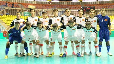 ĐT futsal Việt Nam thua tuyển Costa Rica 1-3 ở trận tranh hạng 5
