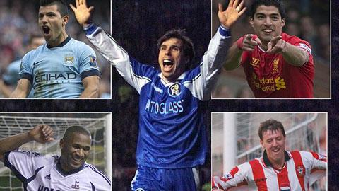 50 tiền đạo xuất sắc nhất Premier League mọi thời (phần 4)