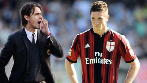 Inzaghi cần kiên nhẫn với Torres