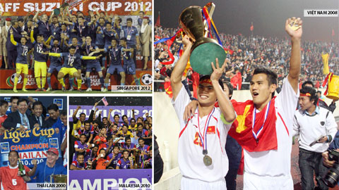 Nhìn lại lịch sử giải vô địch Đông Nam Á: 18 năm lấn… biển