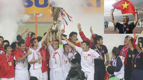 """ĐT Việt Nam vô địch AFF Suzuki Cup 2008: """"Thầy phù thủy"""" và chức vô địch thiên định"""