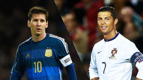 Messi bị ảnh hưởng tiêu cực từ Ronaldo