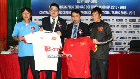 Chùm ảnh: Lễ ký hợp đồng tài trợ trang phục cho các ĐTQG với nhà tài trợ Grand Sport