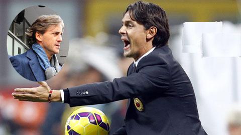 Hướng tới Derby Milan: Inzaghi lúng túng vì Mancini