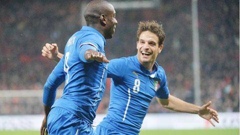 ĐT Italia: Điểm sáng hàng công