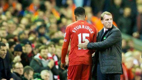 Rodgers mất kiên nhẫn với Sturridge