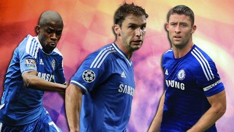 """Chelsea: Thành công đến từ """"kép phụ"""""""