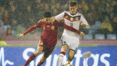 Tây Ban Nha bị Đức đánh bại trên sân nhà: Năm hạn của La Roja!