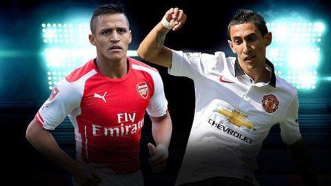 Sanchez vs Di Maria: Ai là tân binh xuất sắc hơn?