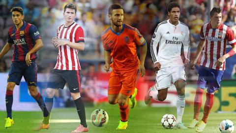 La Liga - Nơi nuôi dưỡng những trung vệ xuất sắc