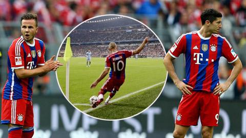 """Bayern Munich cũng """"lây bệnh"""" của Barcelona"""