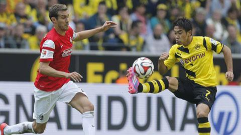 """21h30 ngày 22/11, Paderborn vs Dortmund: """"Hàng hiệu"""" phải hơn"""