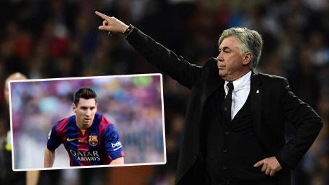 HLV Ancelotti sẵn sàng dành chỗ cho Messi ở Real