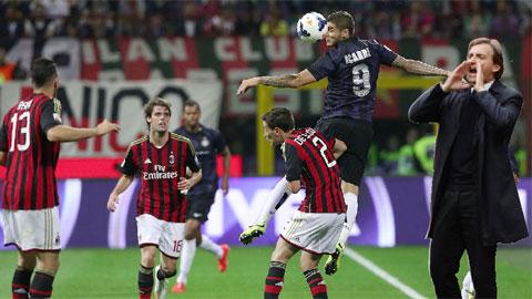 02h45 ngày 24/11, Milan vs Inter: Derby của Mancini
