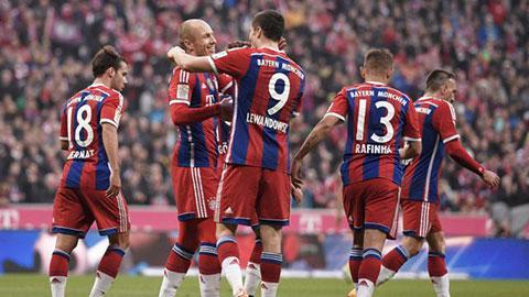 Vòng 12 Bundesliga: Bayern cô đơn trên đỉnh