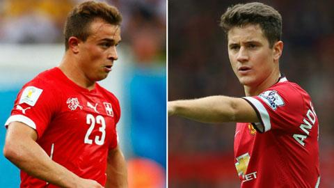 """M.U đổi Ander Herrera lấy """"hàng thải"""" của Bayern Munich"""