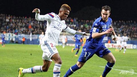 Vòng 14 Ligue 1: Lyon và Monaco cùng sảy chân