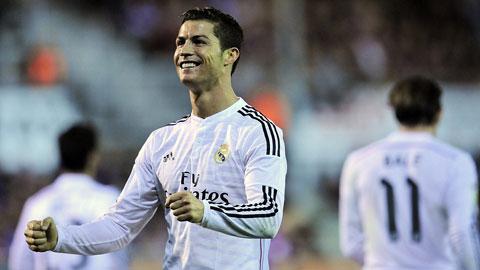 Eibar 0-4 Real: Ronaldo sưu tầm thêm kỷ lục