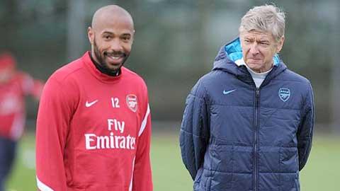 Henry sẽ làm HLV ở Arsenal?