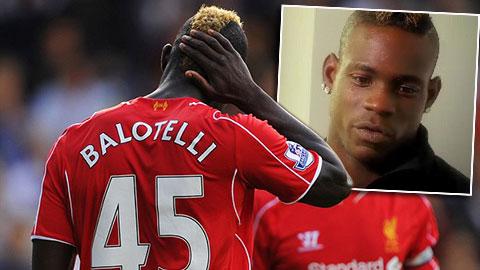 Balotelli tự chấm điểm 7 cho khởi đầu tệ hại tại Liverpool
