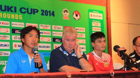 HLV Miura tin tưởng Việt Nam sẽ giành chiến thắng trước Lào. Ảnh: Phan Tùng