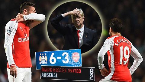 Arsenal kém cỏi thế nào khi đối đầu với các đại gia...