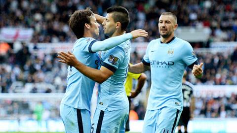 Man City phải tìm người chia lửa, thay vì phụ thuộc vào khả năng ghi bàn của Aguero