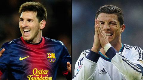 ĐHTB châu Âu tuần qua: Messi có tên, Ronaldo vắng mặt