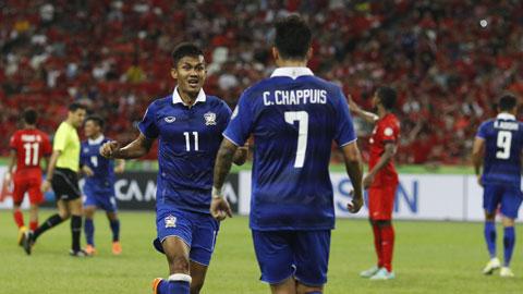 3 điểm nữa sẽ giúp Thái Lan sớm có vé bán kết