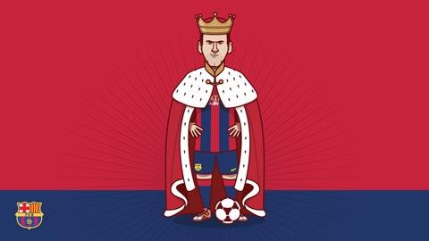 Kỷ lục ghi bàn của Messi qua những con số