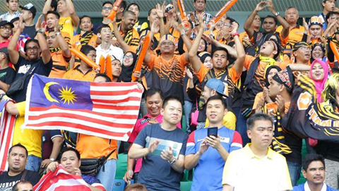 CĐV bóng đá Malaysia