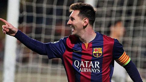 Messi vừa trở thành cầu thủ ghi nhiều bàn thắng nhất ở Champions League