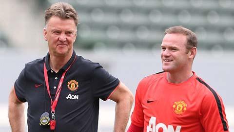 Nghệ thuật pressing của Van Gaal: Bí quyết nằm ở Rooney