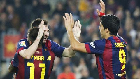 Barca: M-N-S đã được kích hoạt