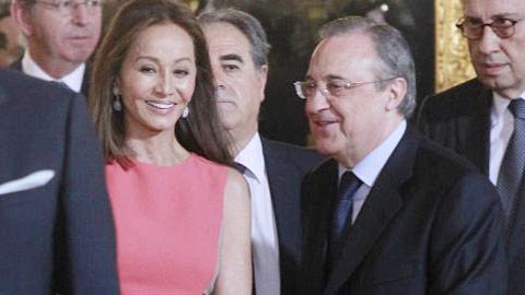 Chủ tịch Real cặp… gái 3 đời chồng
