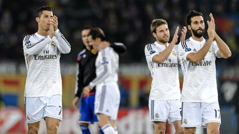 Basel 0-1 Real Madrid: Ronaldo bắt kịp Raul, Real lập kỷ lục mới