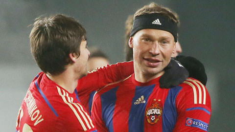 """Cục diện bảng E: CSKA Moscow """"lại"""" trở về từ cõi chết"""