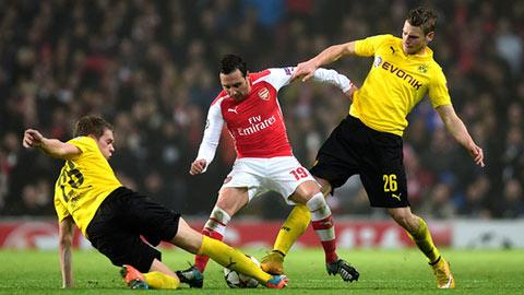Cazorla là điểm sáng lớn nhất trong chiến thắng 2-0 của Arsenal trước Dormund