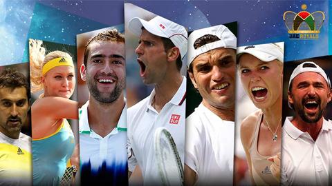 Djokovic, Federer, Serena Williams, Sharapova sẽ quy tụ tại IPTL