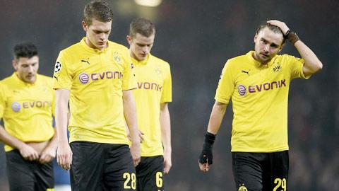 Dortmund: Tìm lại... mặt đất