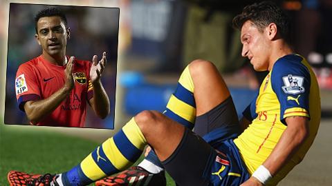 Xavi và Oezil có tên trong danh sách đề cử cho FIFPro World XI