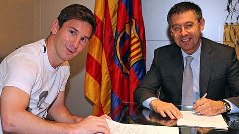 Barca vận động để Messi giành QBV... nhưng quá muộn