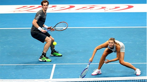 IPTL tại Manila: Murray và Sharapova khởi đầu tệ hại