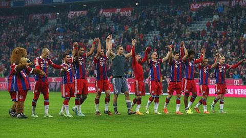 Bayern Munich đạt doanh thu kỷ lục trên 500 triệu euro
